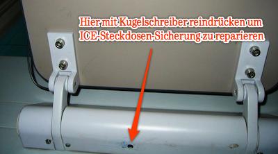 ICE-Steckdose-reparieren
