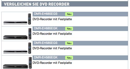 dvd-recorder-produktvergleich
